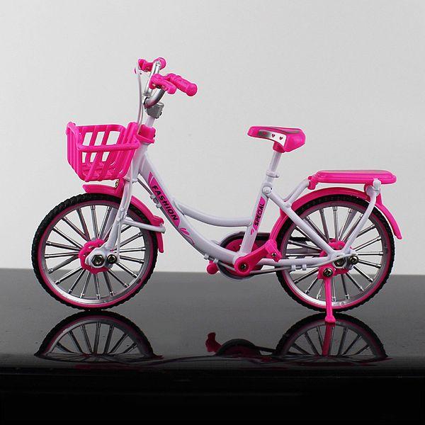 Ciudad rosa de bicicletas