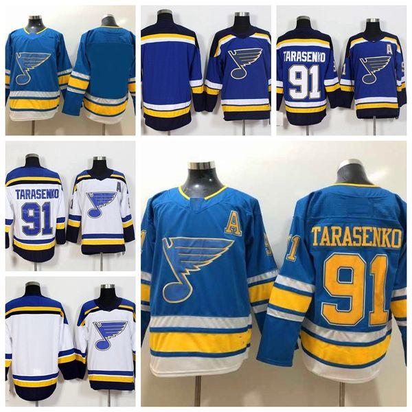 innovative design 81a17 6f10d 2019 2019 St. Louis Blues Vladimir Tarasenko Stitched Jerseys Customize  Alternate Light Blue Shirts #91 Vladimir Tarasenko Hockey Jerseys S XXXL  From ...