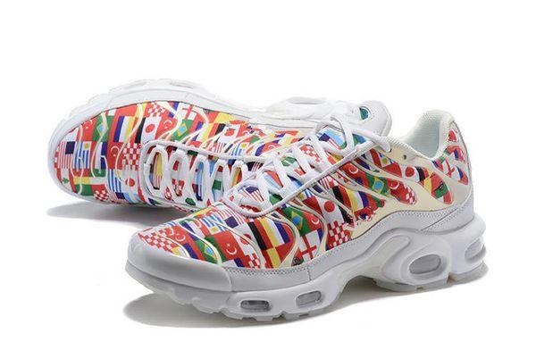 TN Plus NIC QS 90 Designer Shoes International Flag Men Women Running shoes World Cup Limited NIC QS Sneakers shoes Tns