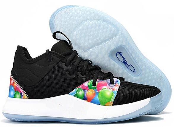 2019 Высокое качество НАСА Пол Джордж PG 3 х EP Palmdale PlayStation Мужская баскетбольная обувь III США Дизайнер PG3 3S Спортивные кроссовки 7-12 09