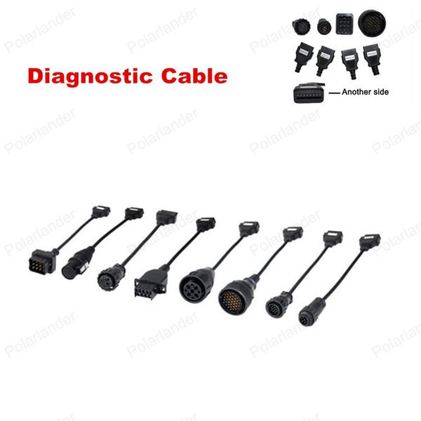 Wholesale 2016 Diagnostic Adapter Connector Car Scanner Cable Car Diagnostic Cable 8Pcs/set Top Quality