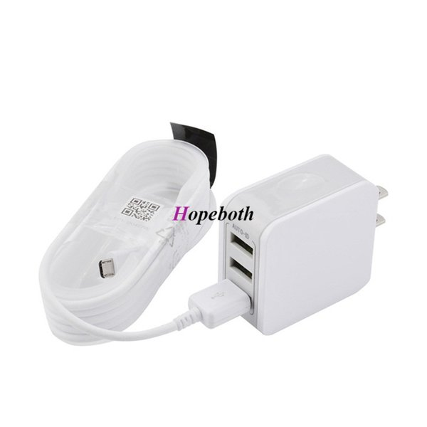 2.5A fast charging charger set with micro/type-c USB data charge cable For iPhone/ipad/Samsung mobile tablet pc cell phone chargers