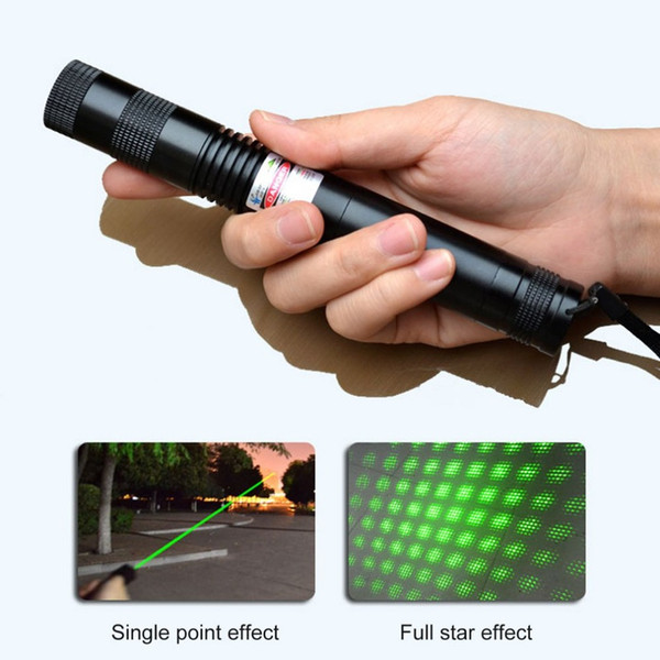 LESHP 851 532nm Fixed Focus Green Laser Pointer Free laser head 5mW RANGE High Power Lazer Pointers Pens With Star Cap