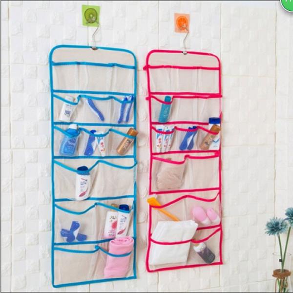 Ropa interior Colgando Bolsa de almacenamiento Sujetador para niñas Organizador para el hogar Misceláneas Colgante de pared Cesta de almacenamiento 10 piezas DHL