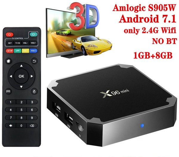 X96 البسيطة، 1 + 8GB، 2.4G واي فاي، NO BT