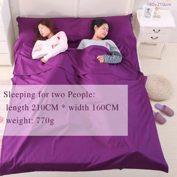 #2 Double /purple/ 210*160cm