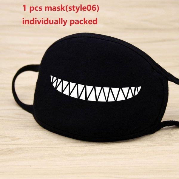 1pc máscara negro (style06)