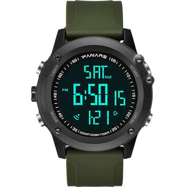 GEMIXI 2019 Hot Sale Fashion Classic Fashion Sports Electronic Watch 50 Meters Swimming Waterproof Calendar Watch Apr.