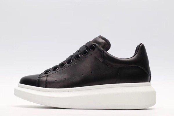 2019 новые роскошные Повседневная обувь черный белый розовое золото дизайнер комфорт довольно Мужская обувь повседневная кожаная обувь мужчины женщины кроссовки jx18082604