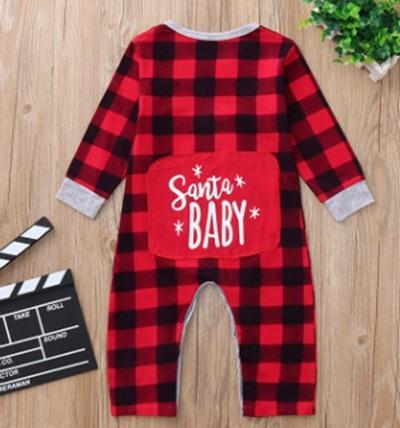 Número 1 manta vermelha roupas de bebê infantil
