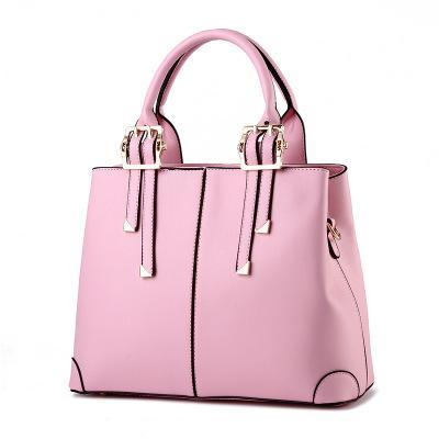 Europe And America Brand B1075 Women's Handbag Fashion Women Messenger Bag Rivet Single Shoulder Bag High Quality Female Bag020