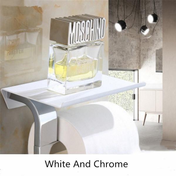 Weiß und Chrom