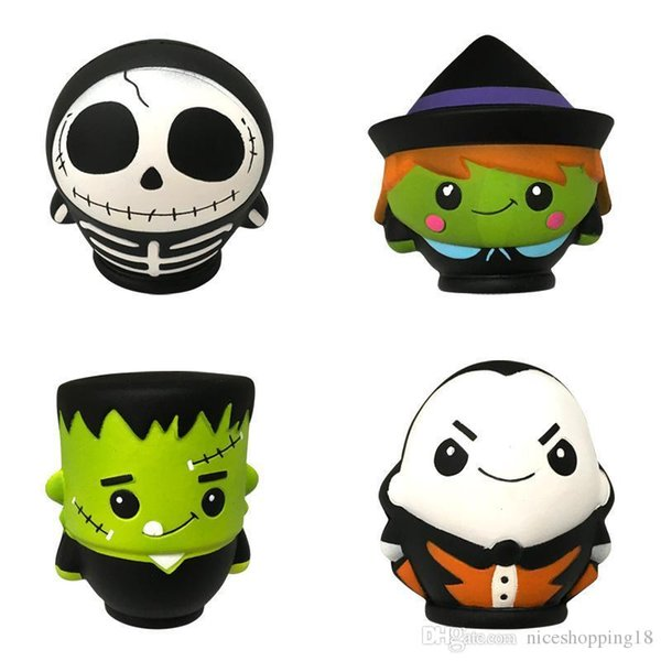 Hallowmas Squishy human skeleton doll Slow rising Rebound Decompression Toys Squishies Hand Squeezed Toy Children Halloween Gifts