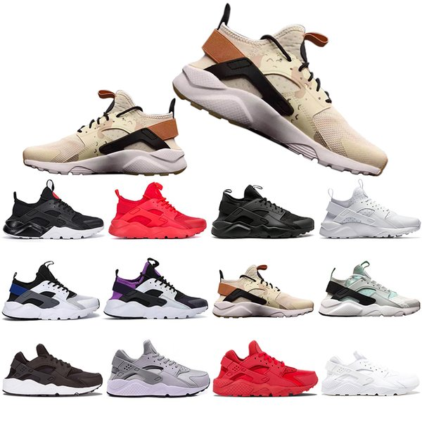 With Box Huarache 4.0 Running Shoes Men Women Khaki Mint Green Balck White Red Mens Sports Athletic Designer Sneakers Trainers 36-45