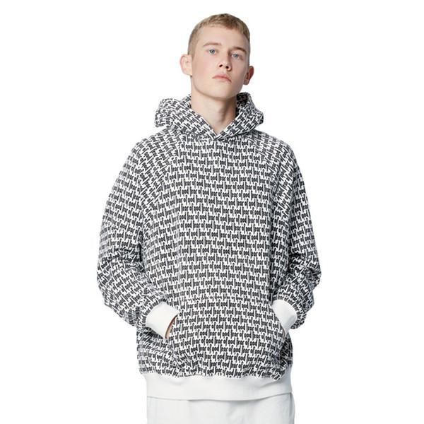 De haute qualité 1: 1 Justin Bieber Peur De Dieu Hoodies Pour Hommes Femmes Sweat À Capuche FOG Jumper Pullover Kanye West Clothing Jacket C18122901