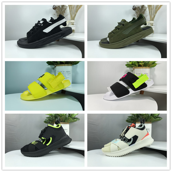 with box Men Women Sandals Designer rs x Shoes Luxury sneakers Slide Summer chaussures de Fashion scarpe Slippery Sandals Slipper zapatos