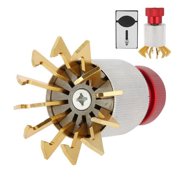 Uhrwerk Crystal Lift Case Entfernen des Öffners Uhrglas ersetzen Schließen des Öffnergehäuses Drücken Sie das Reparaturwerkzeug