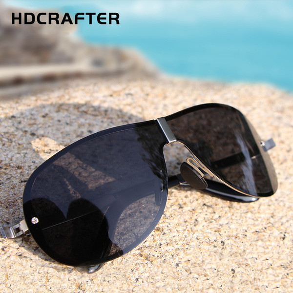 2019 Brand Designer Sunglasses Men Polarized Driving Sun glasses Mens Classic Oversized Glasses For Male Luxury Square Eyewear