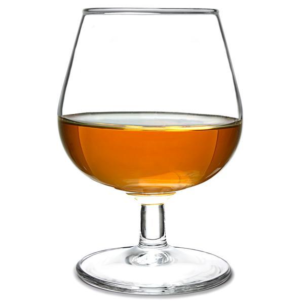 Logo personnalisé en gros gravé à la main soufflé à la main Verres à vin cognac Brandy Verre Cognac 250ml