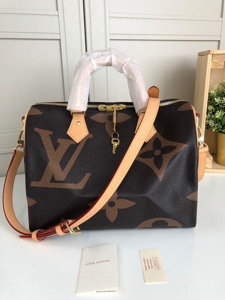Top Classic Hot Sale Women's Handbags Premium Leather Ladies Tote 25*19/30*21cm