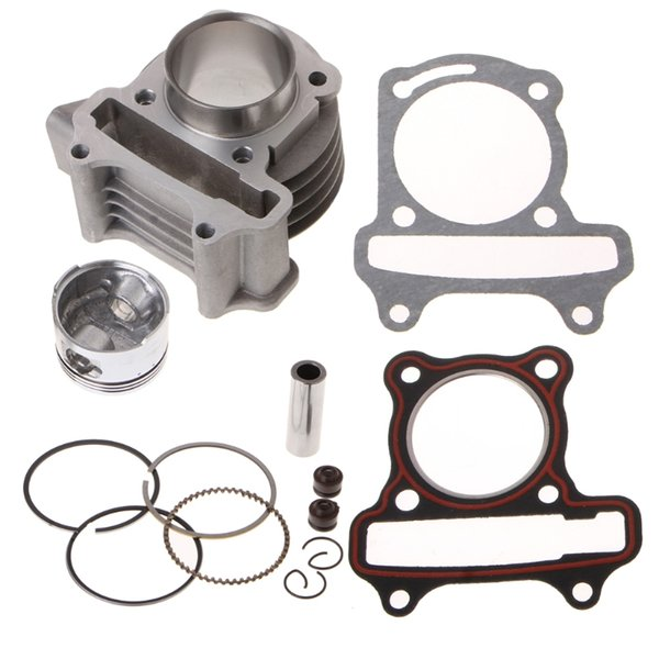 Gy6 50cc engine parts 39mm piston set rings gaskets JCL Scooter Moped SunL