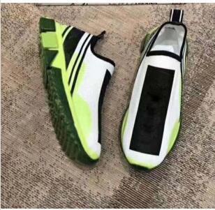 Chaussures de sport pour hommes occasionnels Maille Tissu Stretch Jersey Sorrento Slip-on Sneaker Mode hommes Chaussures en caoutchouc bicolores Micro Sole respirant zx03