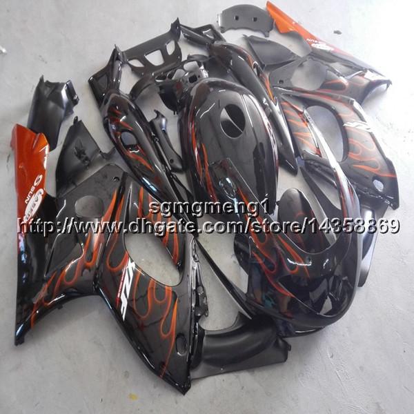 23 Farben + Geschenke + Schrauben orange Flammen Motorradartikel für Yamaha YZF600R 1997 1998 1999 2000 2001 2002 2003 2004 2005 2006 2007