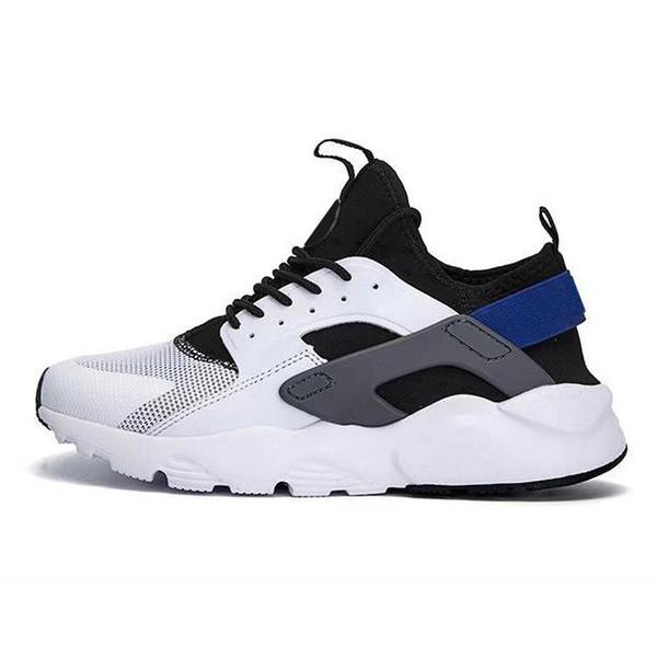 4.0 أبيض أسود أزرق