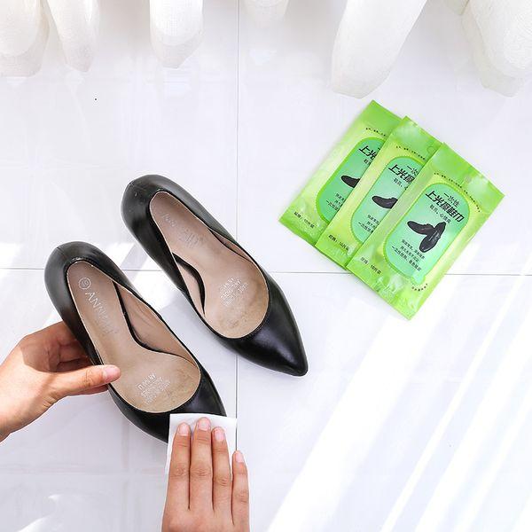 1614 Shoe Man 10 Piece Dress Disposable Decontamination Polish Shoe A Piece Of Cloth Leather Nursing Wet Wipes