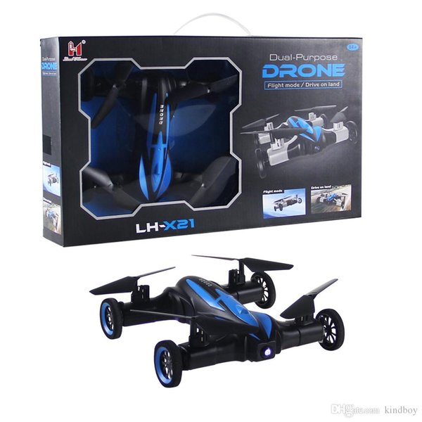 X21 JJRC H23 2.4G RC Drone LandSky 2 In 1 6 Axis Gyro UFO Headless Mode Remote Control Quadcopter RC Helicopters Beginner Level dhl