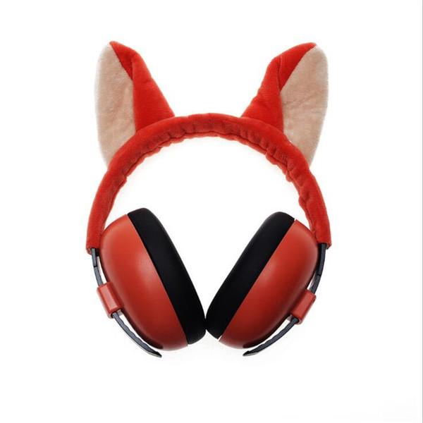 FIRECLUB Head earmuffs, ear protectors, hearing protection, basic knowledge earmuffs safety earmuffs, soundproof earmuffs cartoon noise