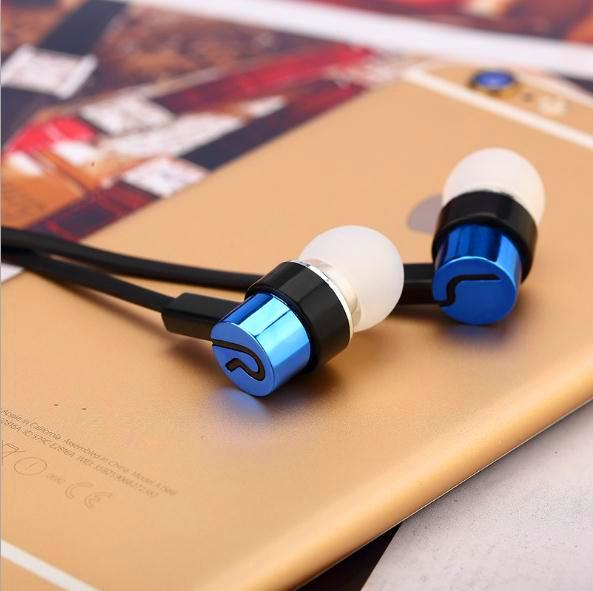 Bella Universal 3.5mm In-Ear Stereo Auricolari Auricolare Super Bass Stereo Musica Auricolare Per Telefono Cellulare Huawei Samsung Xiaomi Party Regalo