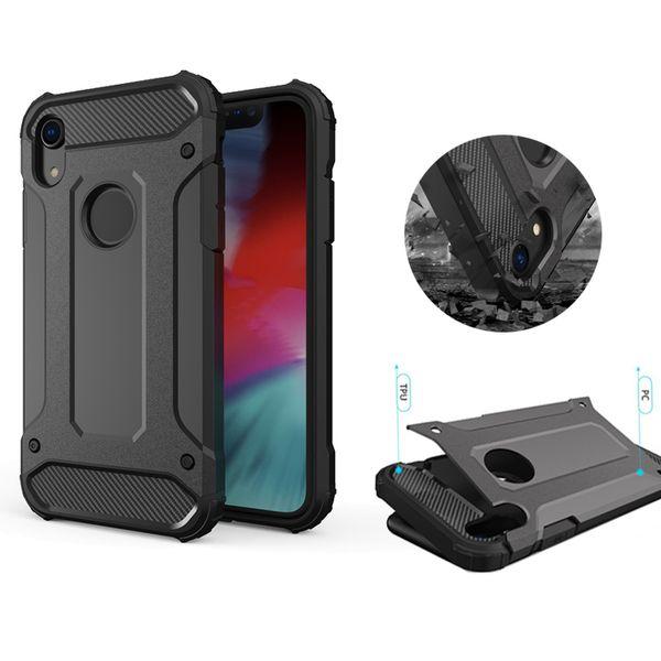 Heavy Duty Hybrid Armor Case for iPhone X XR XS MAX 7 8 6S Plus Samsung S8 S9 Plus Note 8 9 J4 J6 Plus Huawei Mate 20 Lite Pro Moto E5 Play