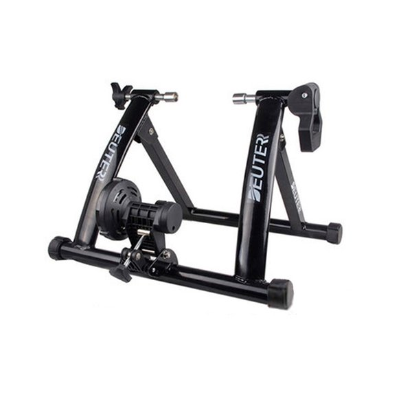 Folding Indoor Training Station Bicycle Exercise Fitness Station MTB Road Bike Trainer Tool Cycling Solid Frame #233479