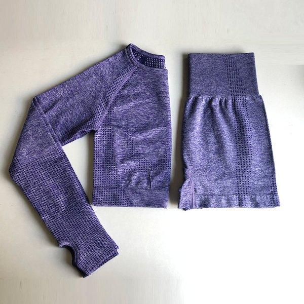 Purple Top+Leggings