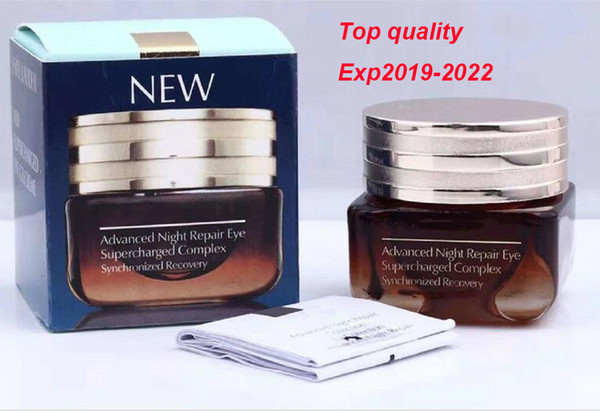 best selling Factory Price Advanced Night Repair Eye cream Highest Quality Correct Smell Synchronized Complex Circle Moisturizing eye cream 15ml dhl ship