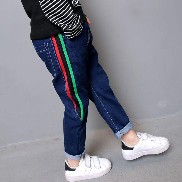Boys Pants 2019 New Spring Kids Clothing Big Boys Jeans Denim Trousers Baby Children Roupas Infantis Menina Pencil Leggings Y19051504