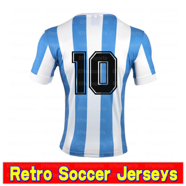 Retro 1978 Argentine 10 #