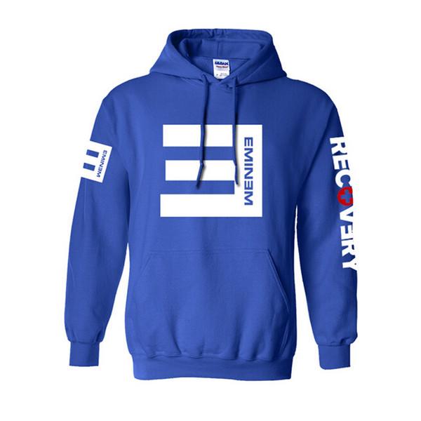 HOT19SSWinter Sweats à capuche en molleton pour hommes Eminem imprimé Thicken Sweat-shirt Homme de sport Mode Vêtements Livraison gratuite