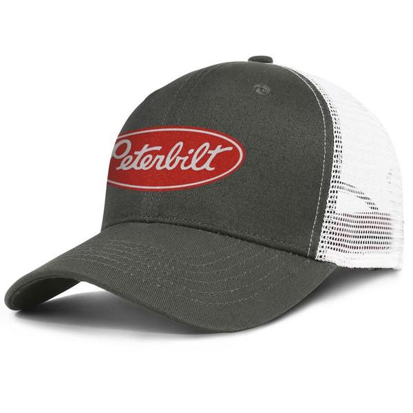 Bayan Erkek Düz Ayarlanabilir Peterbilt Kamyon Logosu Hip-Hop Pamuk Snapback Kap Golf Askeri Erkekler Için Havadar Örgü Şapka Caps kadınlar