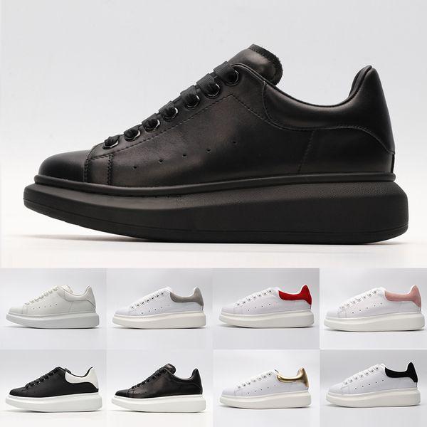 Yeni Varış Marka Moda Tasarımcısı Kadın erkek Beyaz Rahat ayakkabılar kırmızı bayan erkek Low Cut Deri Düz Tasarımcılar Açık Ayakkabı 36-44