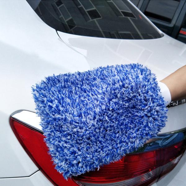 1 Pz pulizia dell'automobile Guanto MiWash morbida microfibra facile da asciugare Detailing panno del tovagliolo M8617