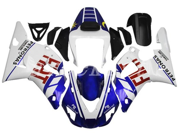 New ABS motorcycle Fairing Kits Fit For YAMAHA YZF-R1 98 99 YZF1000 1998 1999 R1 fairings bodywork set custom color red blue glossy