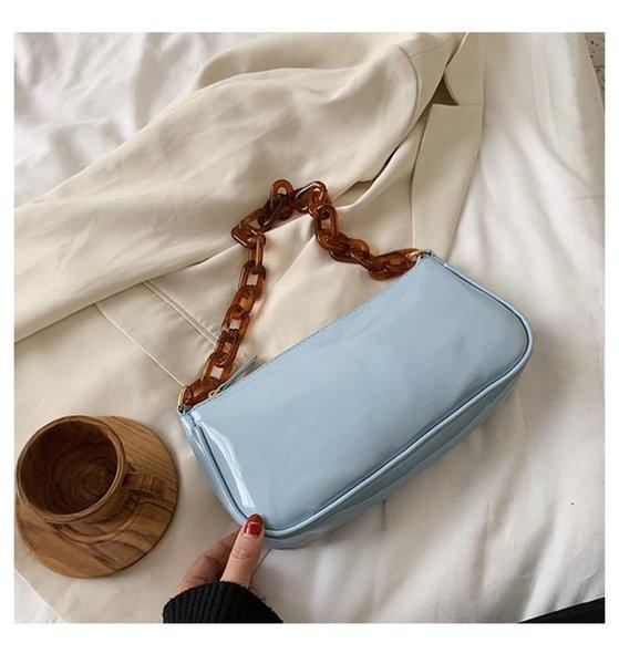 Blau Handtasche