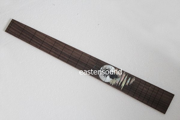 Custom real mother of pearl or abalone inlay design Rosewood Fingerboard Fretboard for Electric Guitar Length 478mm