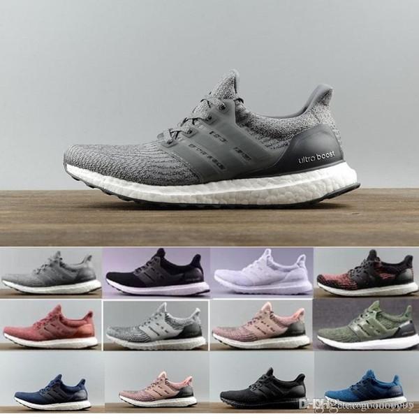 8f958c58255e0 2018 New Mens Shoes Ultraboost 3.0 Shoes Men High Quality Ultra Boost 3 III  White Black