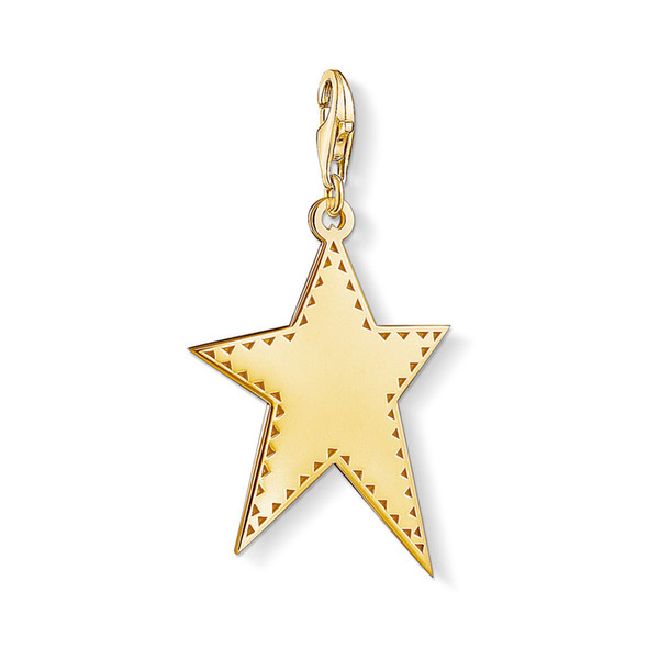 Gold Color Star Charms DIY Jewelry Making Thomas Style Silver Accessories Fit Bracelet Necklace Women Men 2019 New Arrivals