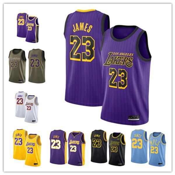 info for 88946 446bd 2018 2019 Los Angeles Men'S Lakers Jersey Swingman Basketball Jersey 23  LeBron James Novelty T Shirts Fun T Shirts From Dadafa_jersey, $21.32| ...