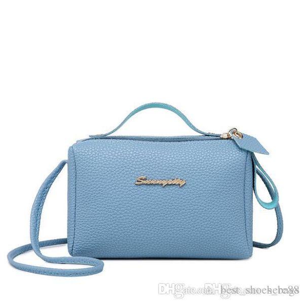 fashion shoulder bags Simple PU Leather Handbag Design Square Solid Envelope Purse Women Messenger Bags Casual Lady Flap Shoulder Bag