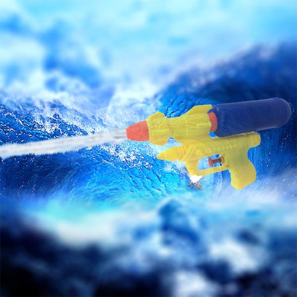 Summer Children Outdoor Game Water Gun Toys Baby Interesting Beach Spray Toys Bottle Shot Water Infusion Gun